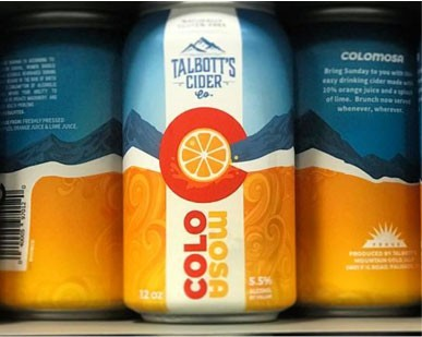 talbotts cider colo mosa cans